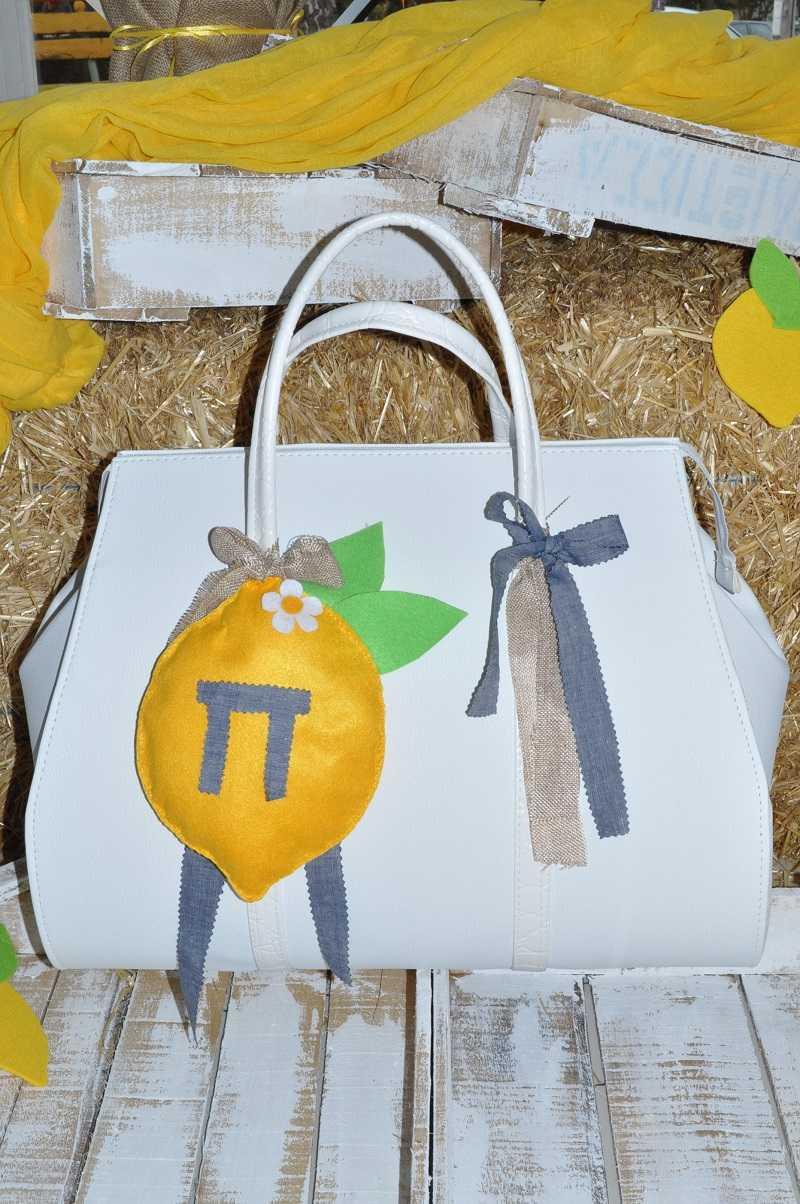 Τσάντα βάπτισης λεμονάκι