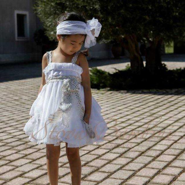 Βαπτιστικό Φόρεμα Stova Bambini Lolite (G1.15)