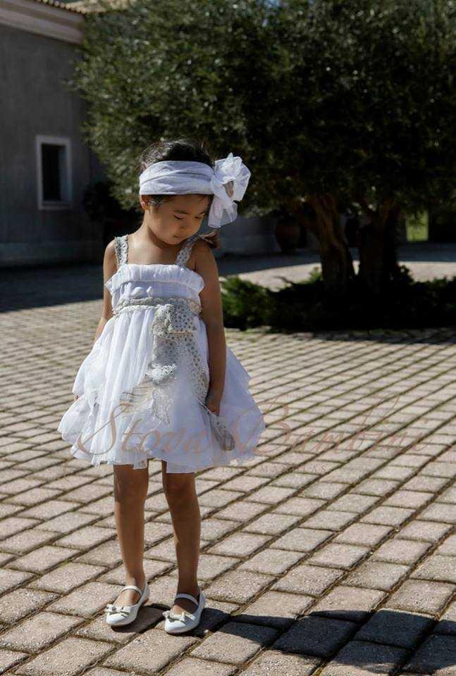 Βαπτιστικό Φόρεμα Stova Bambini Lolite (G1.15) faf5cbf3c23