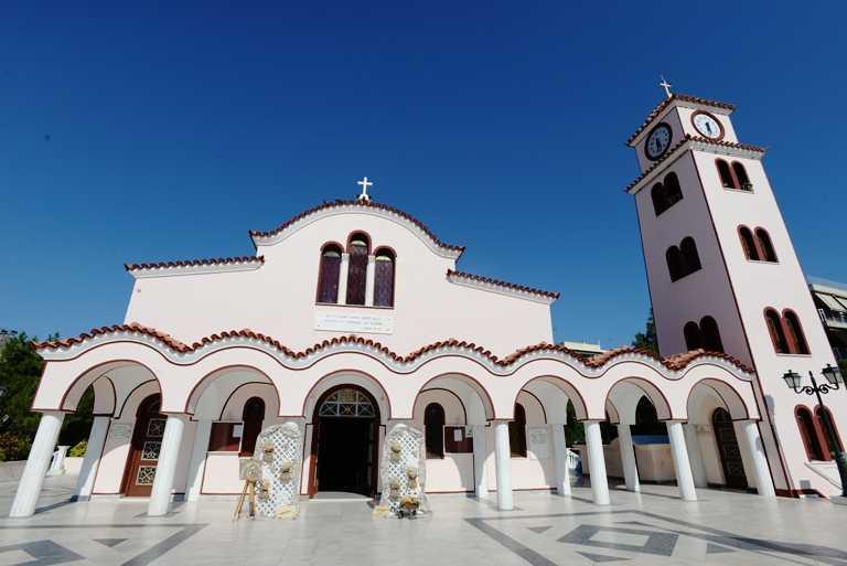 Άγιος Νικόλας  Γλυφάδας βάπτιση ταξιδιώτης