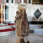 Λαμπάδα βάπτισης με θέμα ο ταξιδιώτης