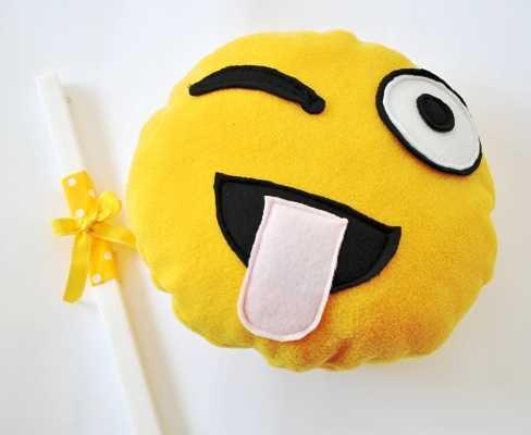 Πασχαλινή λαμπάδα χειροποίητο smile (lp1702)