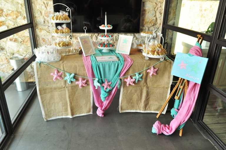 Τραπέζι ευχών βάπτισης στο Moorings Restaurant