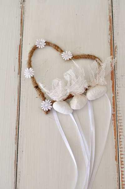 Μπομπονιέρα γάμου χειροποίητη vintage(vx130)