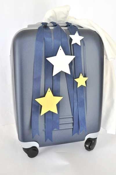 Βαλίτσα βάπτισης με θέμα αστέρι (kv17.17)