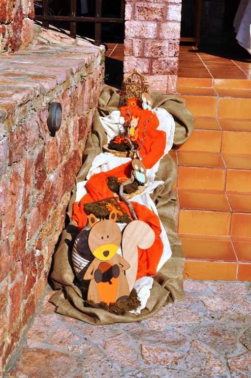 Στολισμός βάπτισης τα ζωάκια