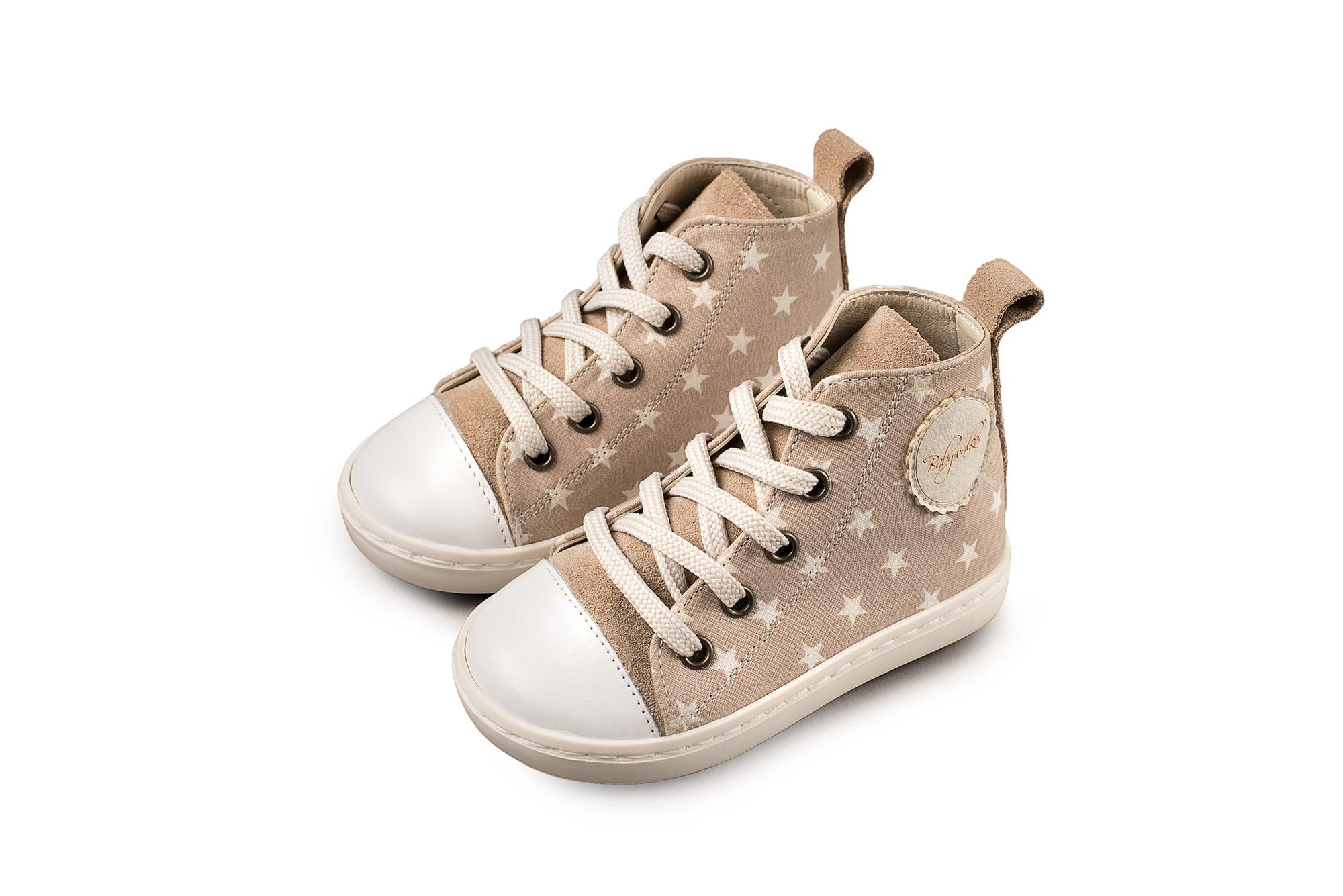 33da378166e Βαπτιστικό Υφασμάτινο Μποτάκι Sneaker Babywalker (BW4063)