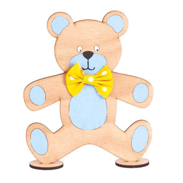 Ξύλινο Διακοσμητικό Αρκουδάκι