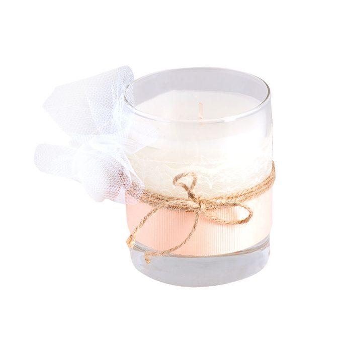 Μπομπονιέρα Γάμου με Αρωματικό Κερί (km19.22)