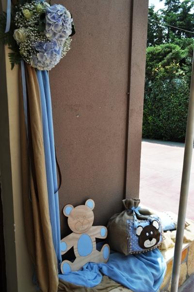 Διακόσμηση Βάπτισης με Θέμα Αρκουδάκι / Little Bear