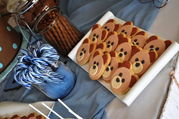 Candy Bar με Θέμα Αρκουδάκι / Little Bear