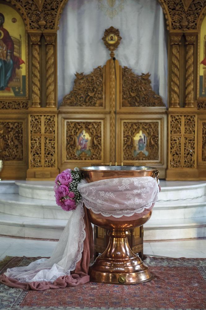 Στολισμός Βάπτισης με Θέμα Είδη Ραπτικής