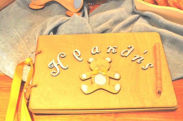 Στολισμός Βάπτισης Αρκουδάκι Σιέλ-Κίτρινο, Ι.Ν. Εισοδίων της Θεοτόκου, Άνω Γλυφάδα