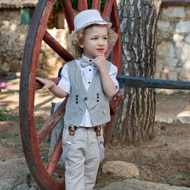 Chic σετ Βάπτισης Liam by Stova Bambini (SS19.17)