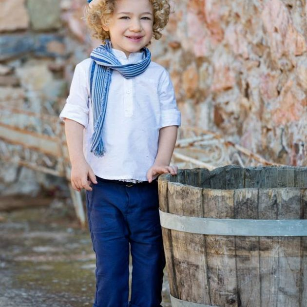 Baggy style σετ Βάπτισης Alberto by Stova Bambini (SS19.19)