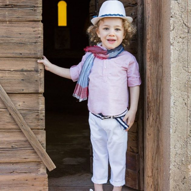Baggy style σετ βάπτισης Antonello by Stova Bambini (SS19.B21)