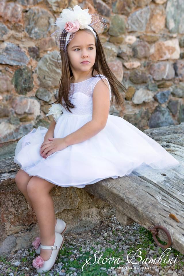 Βαπτιστικό φόρεμα Stova Bambini (SS19.G11)