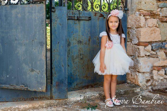 Βαπτιστικό φόρεμα Stova Bambini (SS19.G12)
