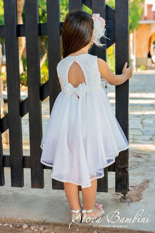 Βαπτιστικό φόρεμα Stova Bambini (SS19.G13