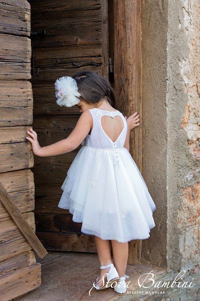 Βαπτιστικό φόρεμα Stova Bambini (SS19.G15)