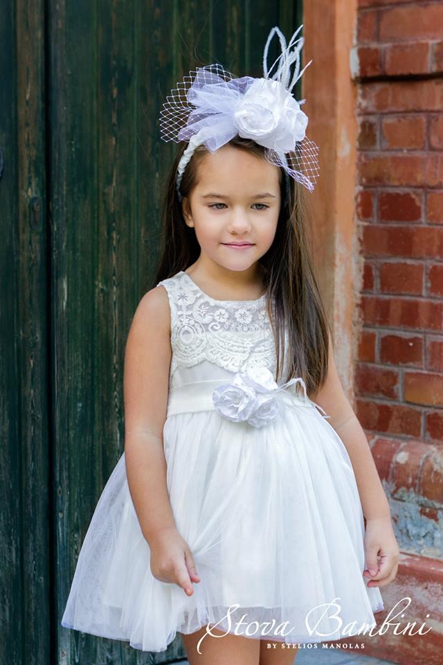 Βαπτιστικό φόρεμα Stova Bambini (SS19.G16)
