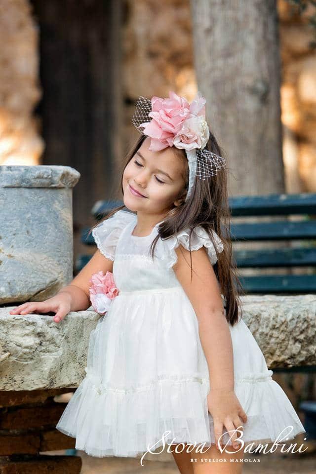 Βαπτιστικό φόρεμα Stova Bambini (SS19.G18)