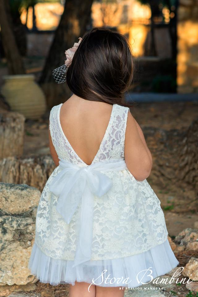 Βαπτιστικό φόρεμα Stova Bambini (SS19.G20)