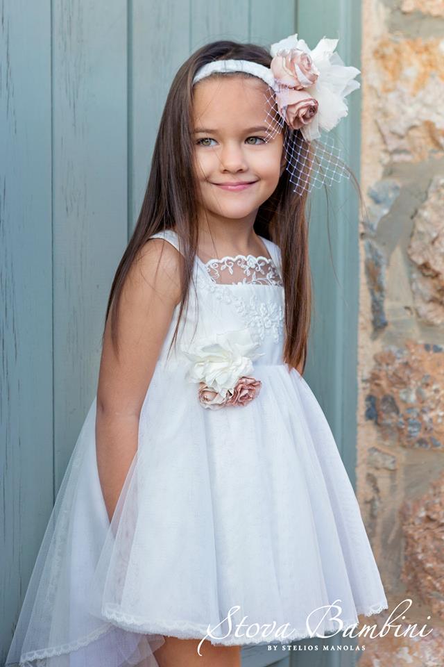 Βαπτιστικό φόρεμα Stova Bambini (SS19.G3)