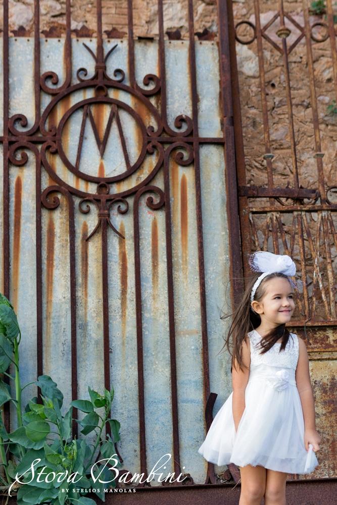 Βαπτιστικό φόρεμα Stova Bambini (SS19.G4)