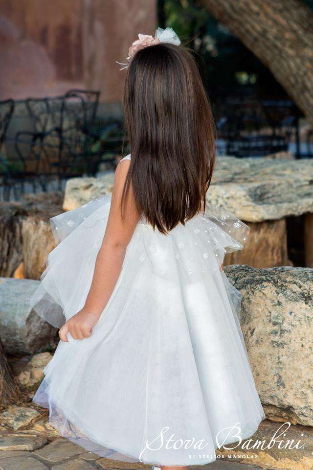 Βαπτιστικό φόρεμα Stova Bambini (SS19.G7)