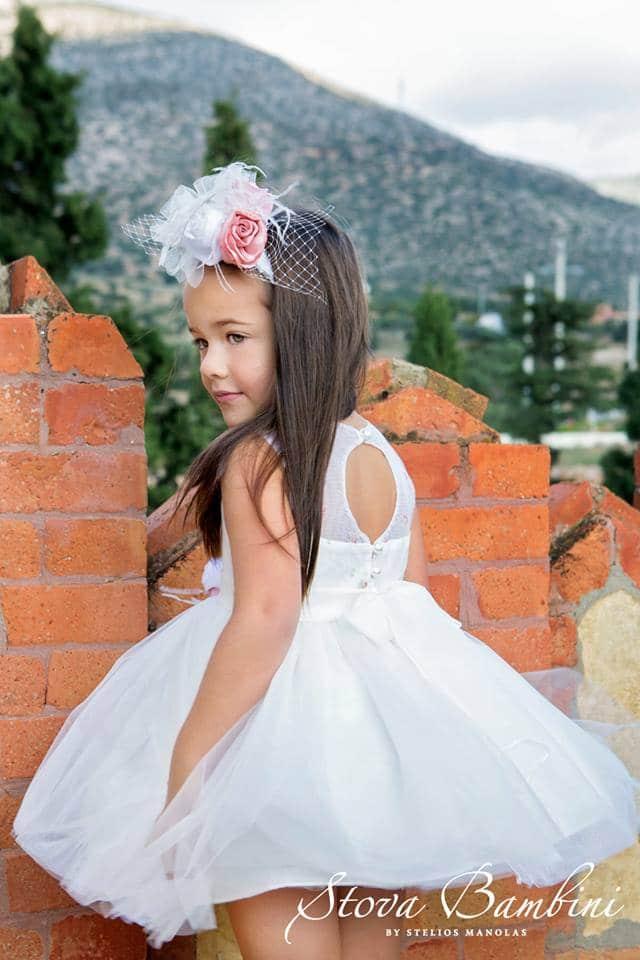 Βαπτιστικό φόρεμα Stova Bambini (SS19.G8)