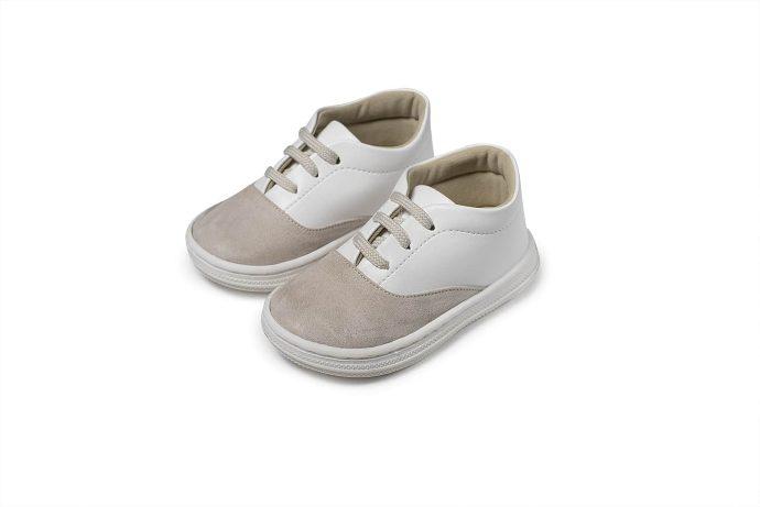 Δίχρωμα Βαπτιστικά Sneakers για Αγόρι (BS.3047)