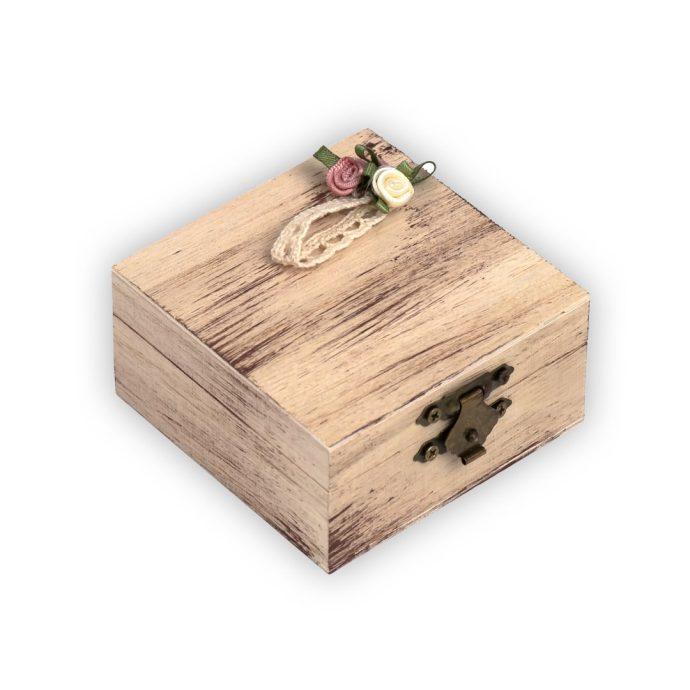 Μπομπονιέρα Γάμου Κουτί Vintage Ρομαντικό