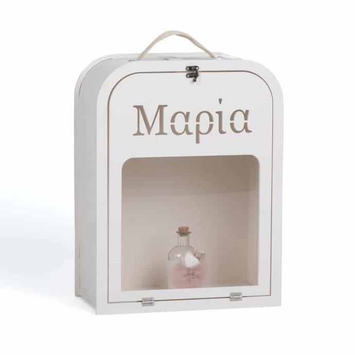 Απλό Κουτί Βάπτισης με Όνομα