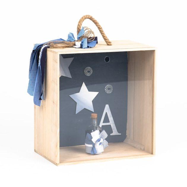 Βαπτιστικό Κουτί με Θέμα Stars