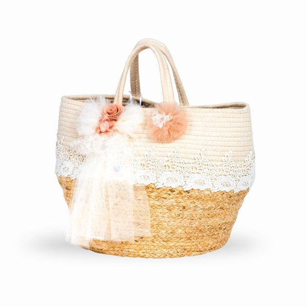 Τσάντα Βάπτισης Ρομαντική Διάθεση