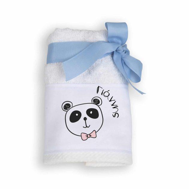 Μπομπονιέρα Πετσέτα με Θέμα Panda
