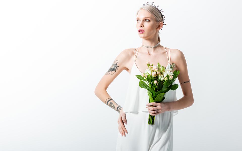 Νύφη με Tattoo