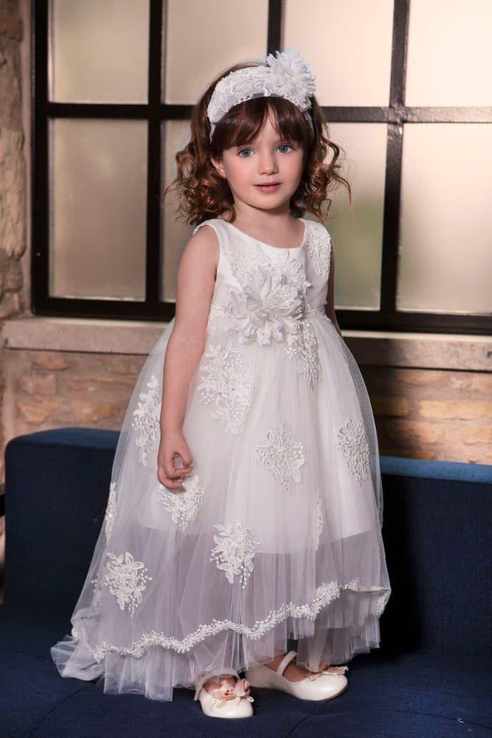 Πριγκιπικό Φόρεμα Dolce Bambini (dbg403)