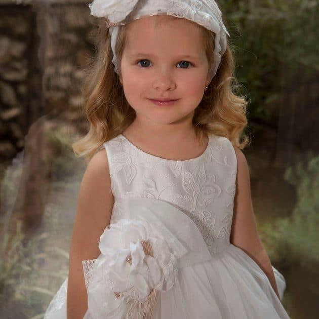Υπέροχο Φόρεμα Βάπτισης Dolce Bambini (dbg548)