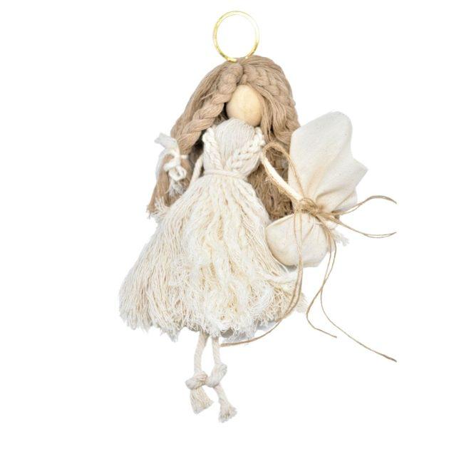 Χειροποίητη Μπομπονιέρα Γάμου Macrame για τη Νύφη