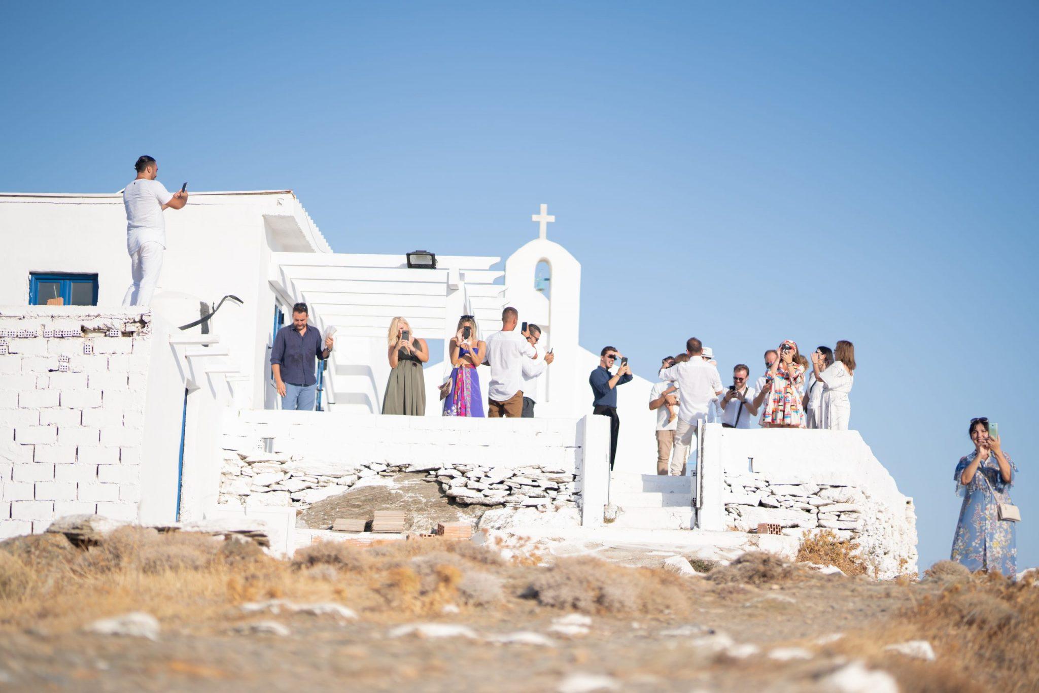 Macrame Boho Wedding στην Κύθνο