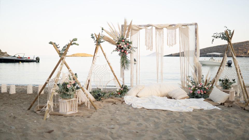 Boho Γάμος στην Παραλία: Ιδέες, Συμβουλές, Προτάσεις